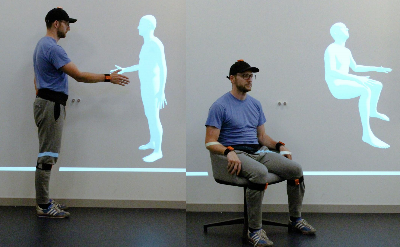 Deep Inertial Poser Learning to Reconstruct Human Pose from SparseInertial Measurements in Real Time