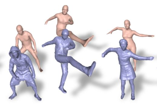 DoubleFusion: Real-time Capture of Human Performance with Inner Body Shape from a Depth Sensor