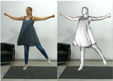 ReTiCaM: Real-time Human Performance Capture from Monocular Video