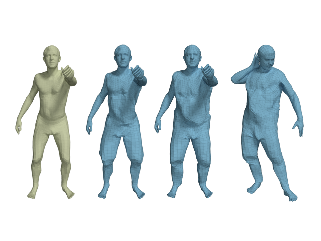 Learning to Dress 3D People in Generative Clothing