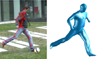 Human Pose Estimation from Video and Inertial Sensors